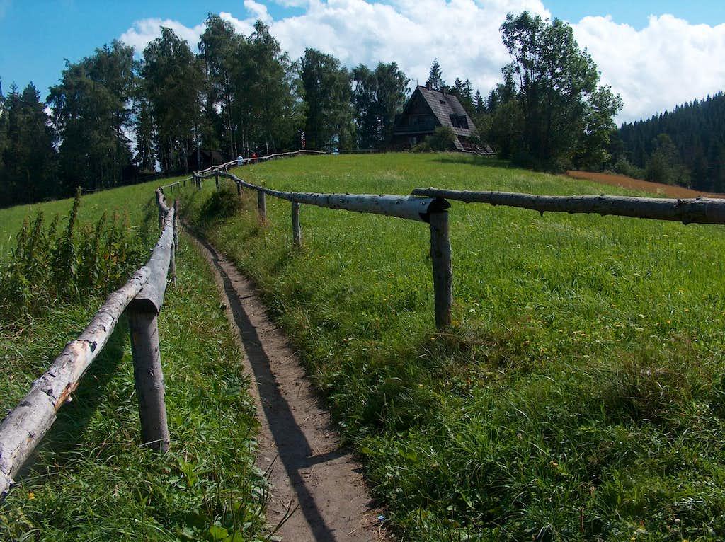 Trail to the Maciejowa hut, 2010