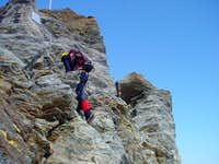 Climbing at Festijoch, 3723...