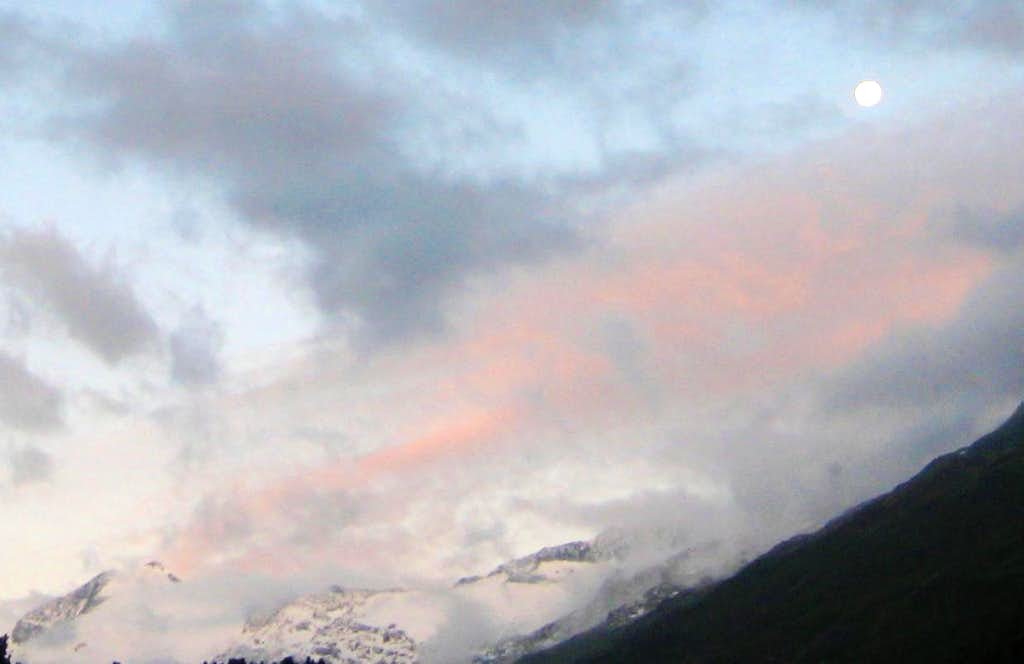 Ramolkogel at sunrise
