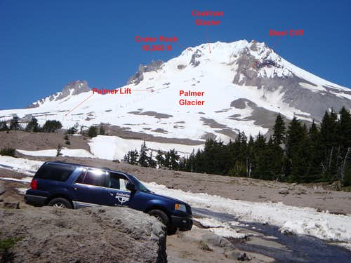 Mt Hood\'s South Side
