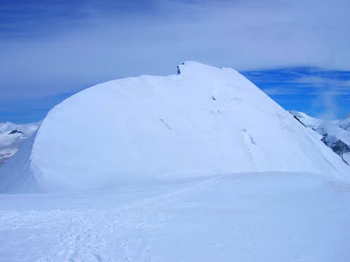 Breithorn\'s middle summit