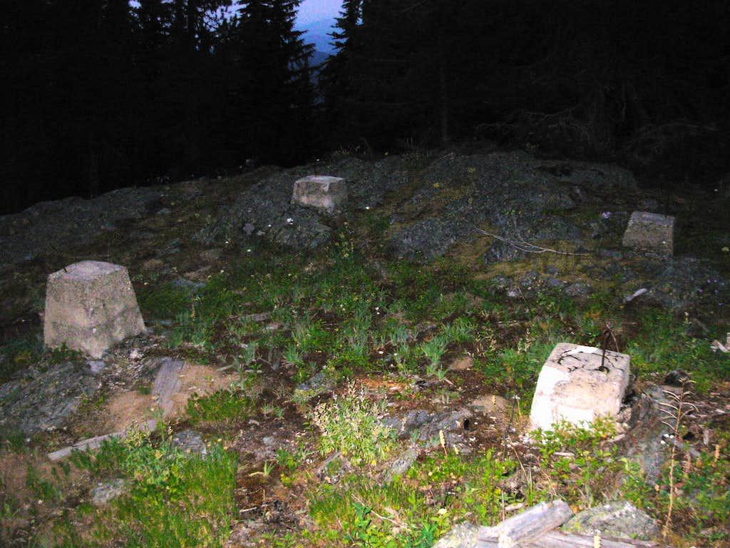 Old Tower Remnants On Snyder Hill
