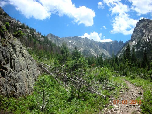 View from Cascade Creek Trail