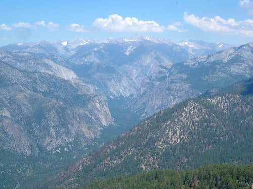 Lookout Peak, Sequoia Kings Canyon Summit View