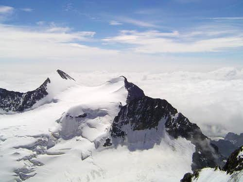 Piz Zupo (left) and Piz...