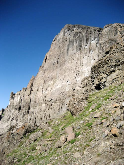 Wall on Wapiti Ridge