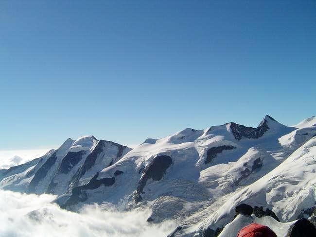 Piz Palü seen from summit of...