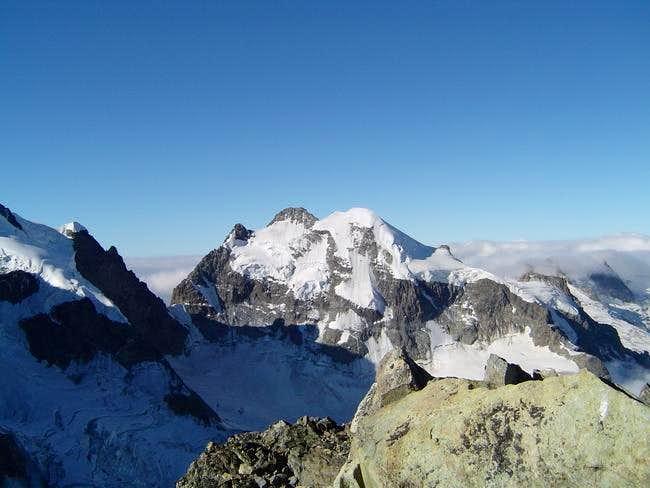 Piz Roseg seen from summit of...