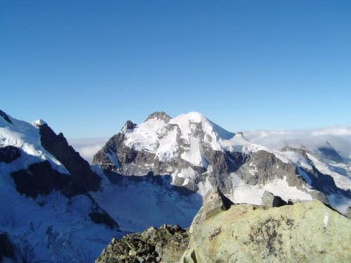 Piz Roseg seen from summit of...