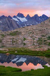Sunrise in Titcomb Basin 2