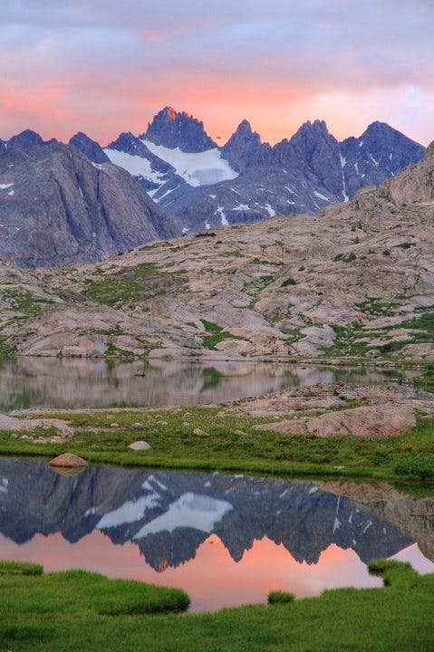 Sunrise in Titcomb Basin 2