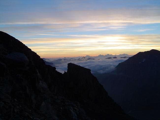 Sunrise over Munt Pers...