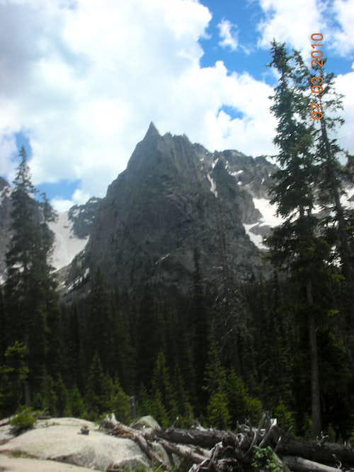Fair Glacier and Lone Eagle