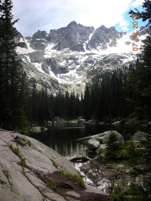 Mount Achonee from Mirror Lake.