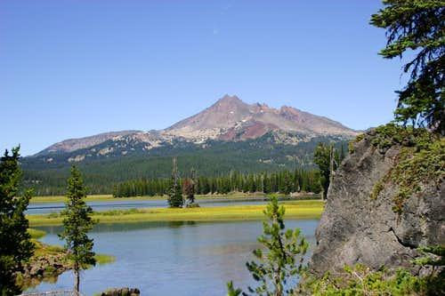 From Sparks Lake