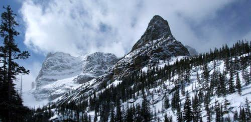 Little Matterhorn from Odessa Lake