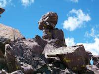 Kings Peak rock formation