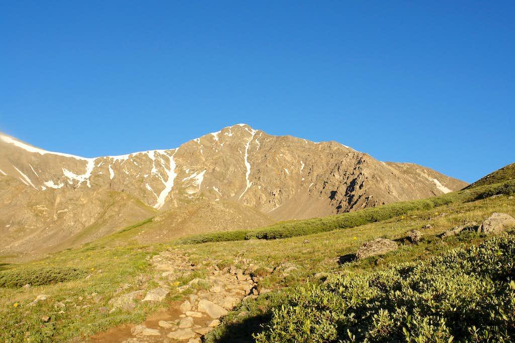 Torreys Peak from Grays Peak Trail