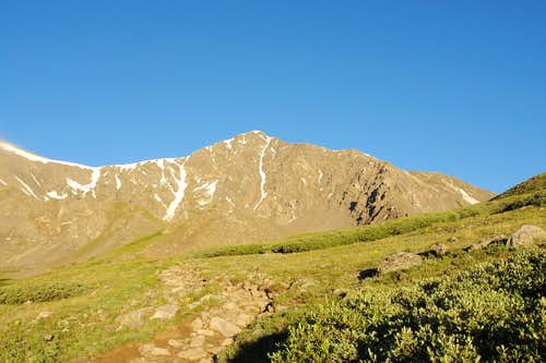 Torreys Peak from Grays Peak Trail
