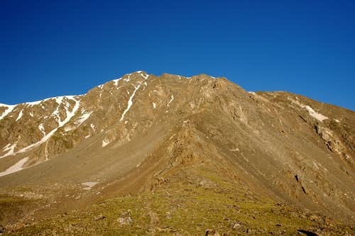 Kelso ridge from Torreys-Kelso saddle