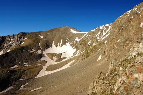 Grays Peak from Kelso ridge