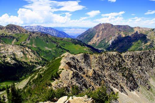 MT Wolverine Summit view