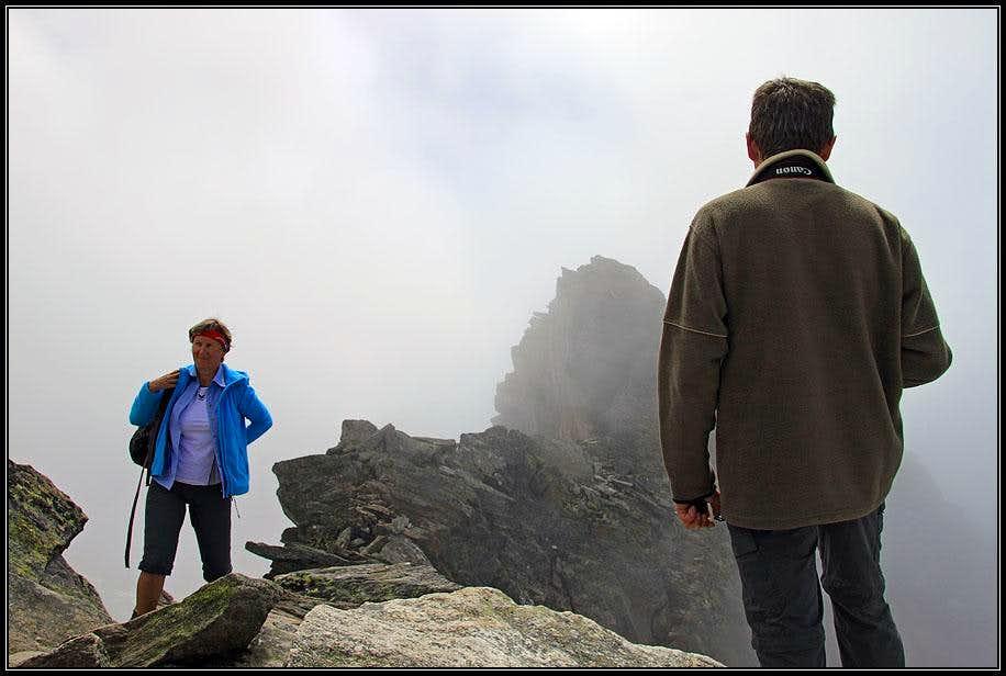 On the N summit of Ahornspitze