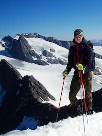 On the NE ridge of the Fluchtkogel 3499m