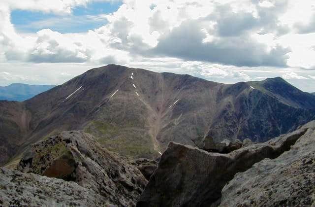 Mount Elbert from the west....