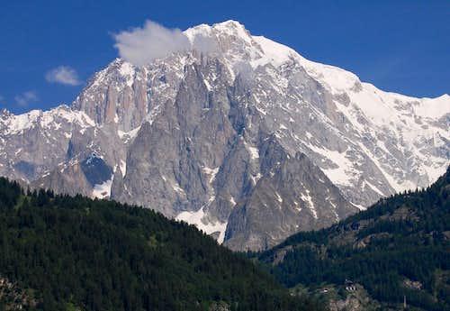 Mont Blanc - Italian side 2010