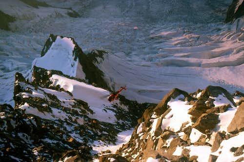 Mont Blanc - Brenva route 1984