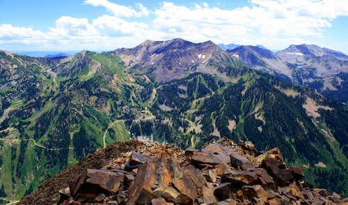 The Monte Cristo summit view