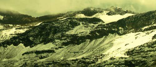 Clowds above Ramolkogel