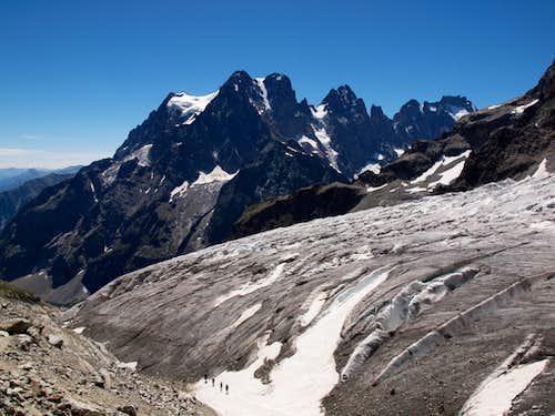 Pelvoux, Pic Sans Nom, Ailefroide, Glacier Blanc