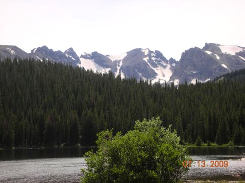 Panorama from Long Lake