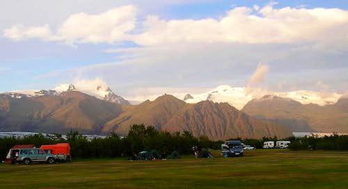 Camping at Skaftafell with...