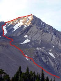 Leatherman Route Map