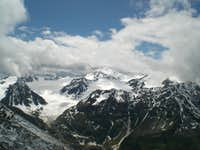 View from the Wassertalkogel 3252m