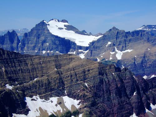 Mt Merrit from Apikuni