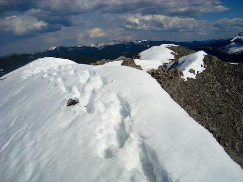 Main summit Mt.Baldy