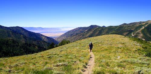 Hiking The Butterfield Peaks