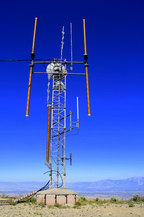 Radio Tower on The Butterfield Peaks