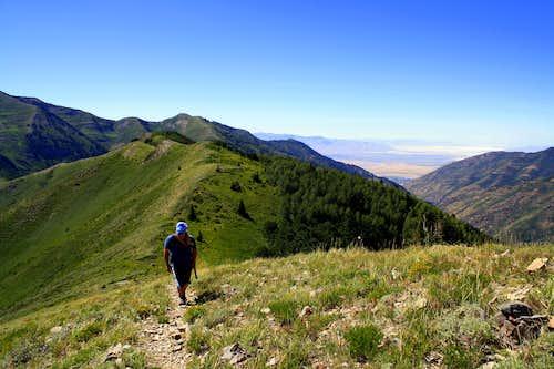 Troy hiking The Butterfield Peaks