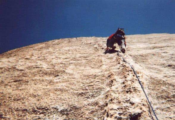 Me on the fourth pitch of...