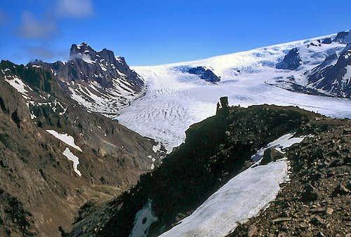 Vatnajoekull glacier, the...