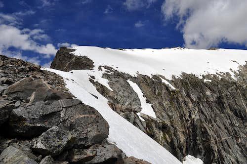 Gannett summit ridge
