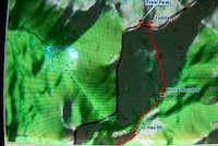 Topo of Freel Peak with last...