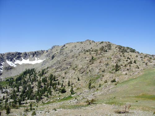 Peak 9795 - Mokelumne Wilderness