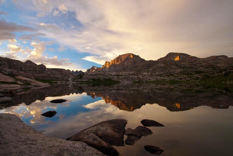 Fremont Peak, reflection
