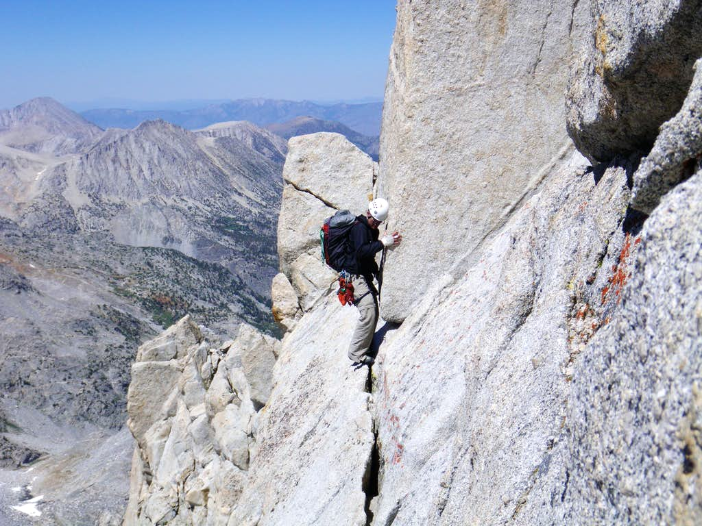 Fourth class on ridge